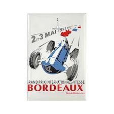 Grand Prix Bordeaux Rectangle Magnet