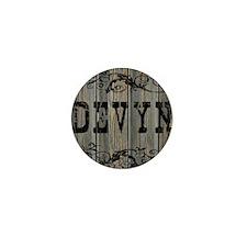 Devyn, Western Themed Mini Button