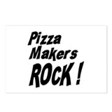 Pizza Makers Rock ! Postcards (Package of 8)