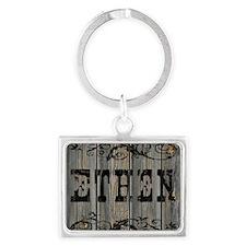 Ethen, Western Themed Landscape Keychain