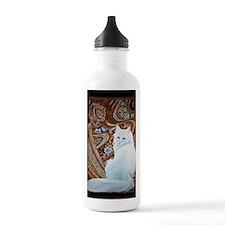 White Turkish Angora t Water Bottle