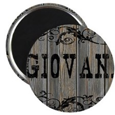 Giovani, Western Themed Magnet