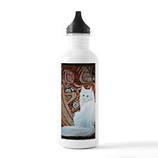 White Turkish Angora l Water Bottle