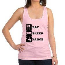 Eat Sleep Dance Racerback Tank Top