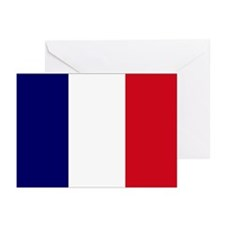 The French flag Greeting Cards (Pk of 10)