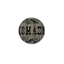 Ismael, Western Themed Mini Button