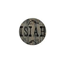 Isiah, Western Themed Mini Button