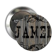 "Jamel, Western Themed 2.25"" Button"