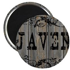 Javen, Western Themed Magnet