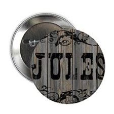 "Jules, Western Themed 2.25"" Button"