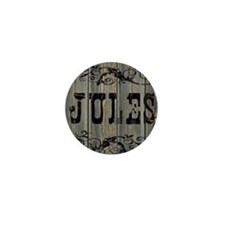 Jules, Western Themed Mini Button