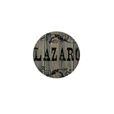 Lazaro, Western Themed Mini Button