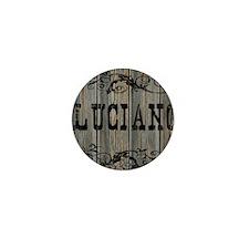 Luciano, Western Themed Mini Button