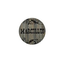 Marcellus, Western Themed Mini Button