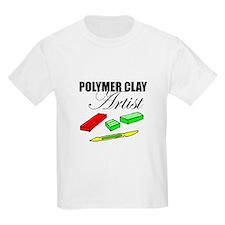 Polymer Clay Artist Kids T-Shirt