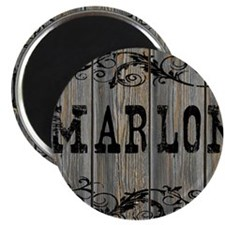 Marlon, Western Themed Magnet