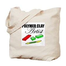 Polymer Clay Artist Tote Bag