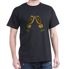 Champagne Glasses T-Shirt