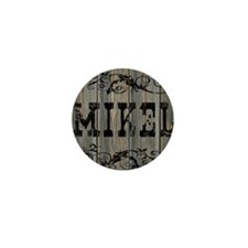 Mikel, Western Themed Mini Button