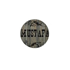 Mustafa, Western Themed Mini Button