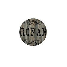 Ronan, Western Themed Mini Button