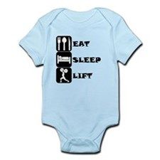 Eat Sleep Lift Body Suit