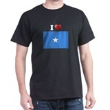 I love Somalia Flag T-Shirt