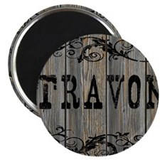 Travon, Western Themed Magnet