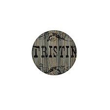 Tristin, Western Themed Mini Button