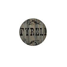 Tyrell, Western Themed Mini Button