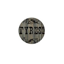 Tyrese, Western Themed Mini Button