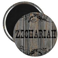 Zechariah, Western Themed Magnet