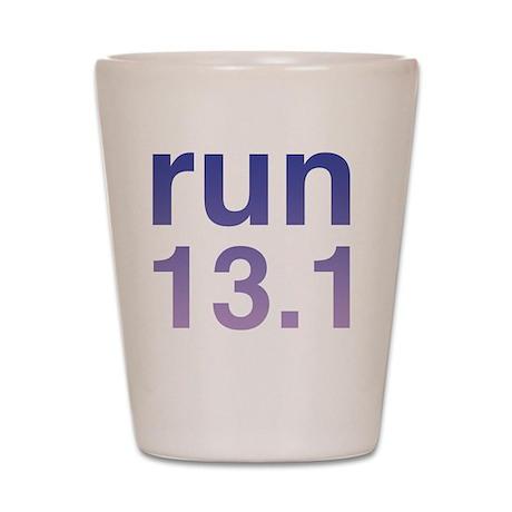 run13purple Shot Glass