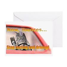 toonces2 Greeting Card