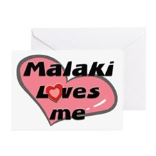 malaki loves me  Greeting Cards (Pk of 10)