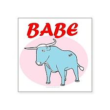 """BABE Square Sticker 3"""" x 3"""""""