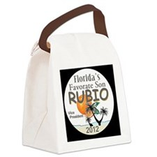 Marco RUBIO VP Canvas Lunch Bag