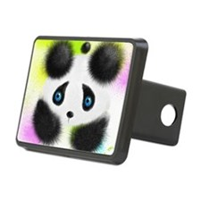 Panda in color Hitch Cover