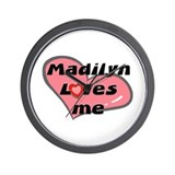 madilyn loves me  Wall Clock