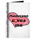 madalynn loves me Journal