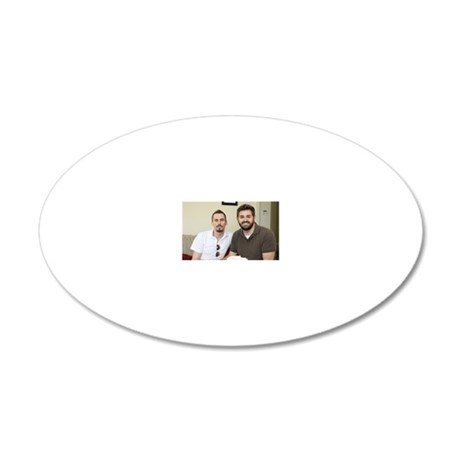 Joshawn 20x12 Oval Wall Decal