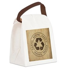 Vintage Karma Canvas Lunch Bag