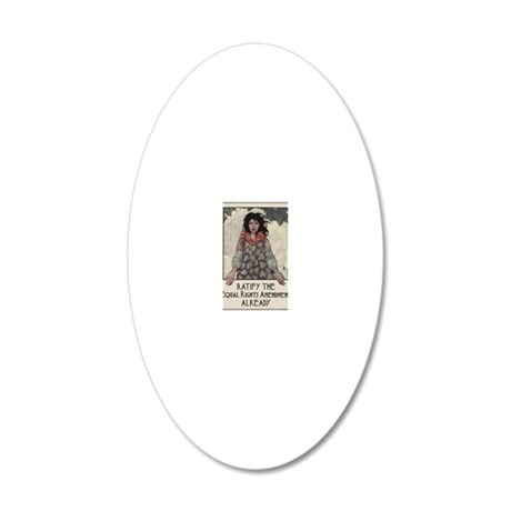 Ratify the ERA 20x12 Oval Wall Decal