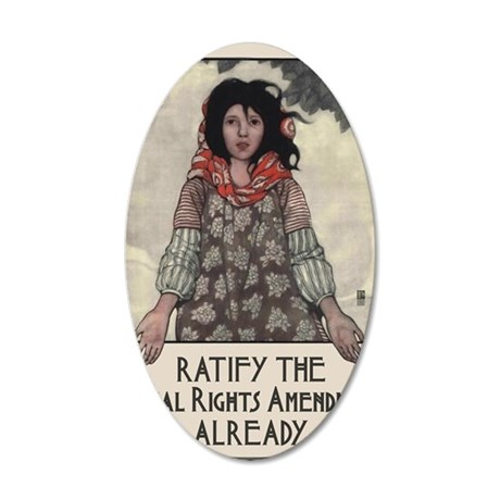 Ratify the ERA 35x21 Oval Wall Decal