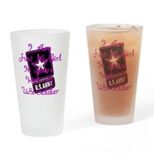 In Love With A Soldier Drinking Glass