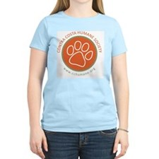 CCHS paw round logo with web T-Shirt