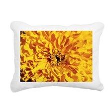 Yellow carnation Rectangular Canvas Pillow