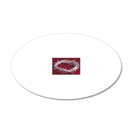 24118663 20x12 Oval Wall Decal
