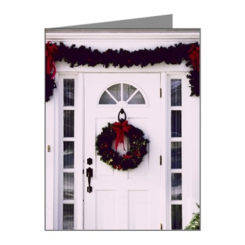 Christmas decorations on fro Note Cards (Pk of 10)