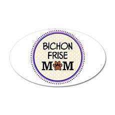 Bichon Frise Dog Mom Wall Sticker
